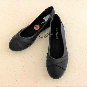 CL Laundry Ballet Flats - Size 8W - NWT